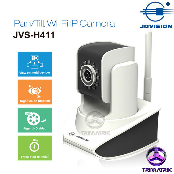 Jovision JVS H411 Wireless IP Camera Bangladesh Trimatrik Jovision JVS-H411 360 Moving PTZ Wireless IP Camera