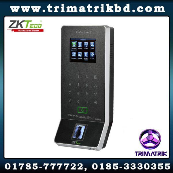 ZKTeco ProCapture X Bangladesh ZKTeco Bangladesh ZKTeco ProCapture-X POE Fingerprint Access Control Terminal