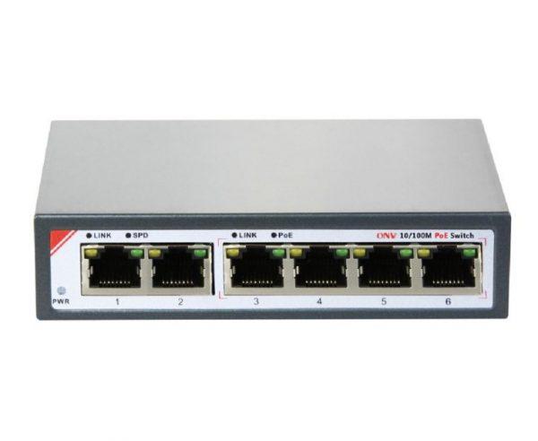 90IEeF4RQhKLVILo6Cpa A 1180xa 1 4 Port POE Switch ONV-POE 31064PL