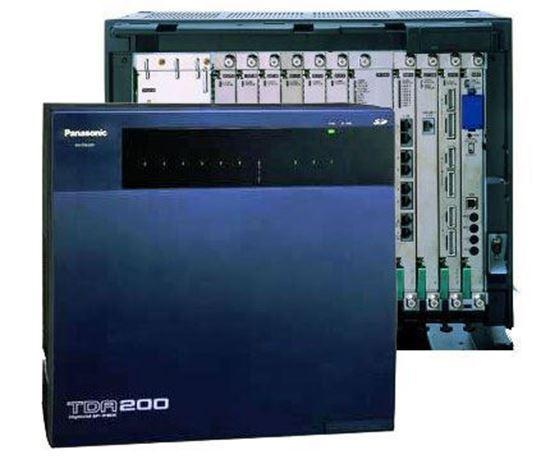 Panasonic KX TDA200 Bangladesh Trimatrik Panasonic KX-TDA200 Hybrid IP PABX System (up to 192  Ext.)